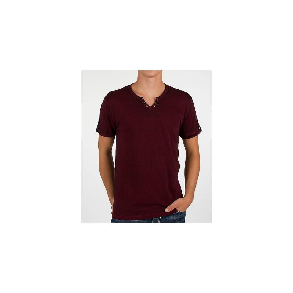 Buckle Black Burnout T Shirt at  Men's Clothing store