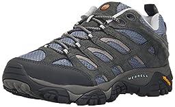 Merrell Women\'s Moab Ventilator Hiking Shoe, Smoke, 6.5 W US