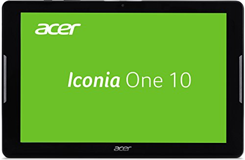 Acer Iconia One 10 (B3-A30) 25,7 cm (10,1 Zoll HD) Tablet-PC (MTK MT8163 Quad-Middle, 1GB RAM, 16GB eMMC, Android 6.0 Marshmallow) schwarz