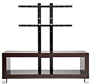 OmniMount Echo, 50FP 50-Inch Video Table with Flat Panel Stand (Espresso) (Discontinued by Manufacturer)
