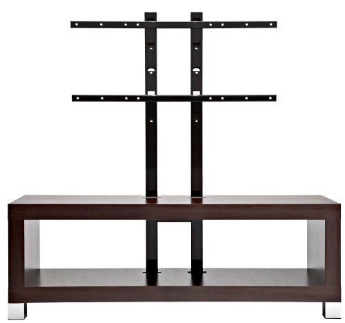 OmniMount Echo, 50FP 50 Inch Video Table With Flat Panel Stand (Espresso)