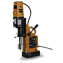 "Jancy 4x4 Portable Magnetic-Base Drill, 120V, 11.7 Amp Motor, 4"" Diameter x 3"" Depth Capacity"