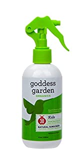 Goddess Garden Kids SPF 30 Natural Sunscreen, Trigger Spray, 8-Ounce