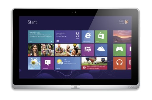 Acer Aspire P3-131-4833 11.6-Inch Convertible 2-in-1 Touchscreen Tablet (Silver)