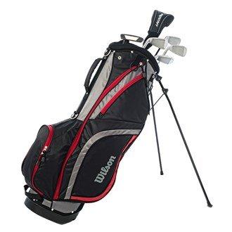 Wilson Staff Herren Golf - Schlägersätze PRO HDX GRA MRH 1/2 SET, Schwarz Rot, RH (Rechte Hand), Regular (R), 1, WGG130001