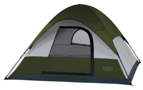 Wenzel Pinon Sport 7-By 7-Foot Three-Person Dome Tent front-135559