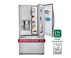 LG LFX31945ST 30.5 Cu. Ft. Super-Capacity French Door Refrigerator