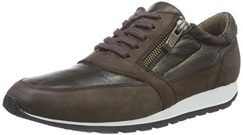 Caprice 23651, Low-Top Sneaker donna, Marrone (Braun (DKBRN NU/BRONC 394)), 41