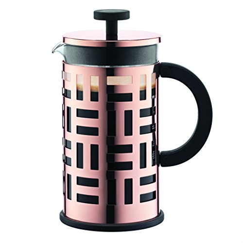 Bodum 8 Cup Eileen Coffee Maker, 34 oz, Copper