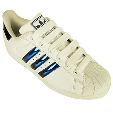 adidas superstar blue metallic
