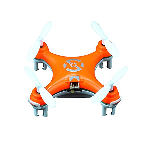 Cheerson CX-10 Mini 2.4G 4CH 6-Axis LED RC Quadcopter Airplane Orange