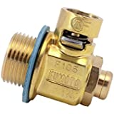 F105S (20mm-1.5): Fumoto Oil Drain Valve with Short Nipple Joint