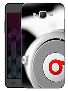"""Humor Gang Beats Headphones Love Printed Designer Mobile Back Cover For """"Samsung Galaxy Grand 3"""" (3D, Matte, Premium Quality Snap On Case)"""