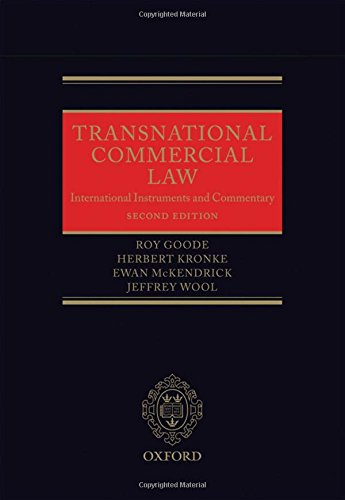 Transnational Commercial Law: International Instruments and Commentary