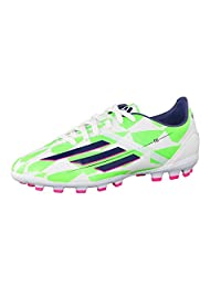 Adidas Boy's F10 Trx Artificial Ground Football Boots US3.5 White