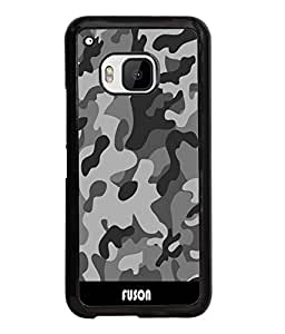 Fuson Millitary Pattern Back Case Cover for HTC ONE M9 - D3683