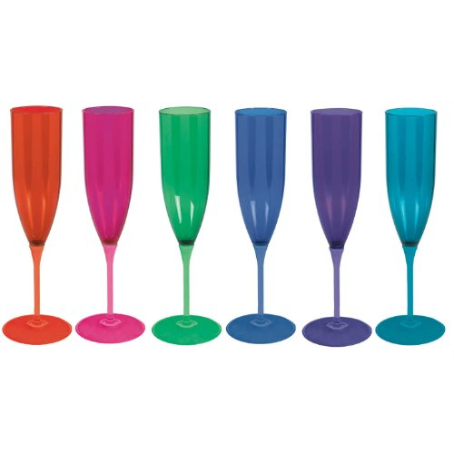 Jeweltone Champagne Glass