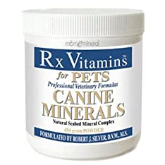 Canine Minerals Powder 454 g by Rx Vitamins for Pets