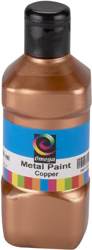 Omega Metal Paint, 250ml, Copper