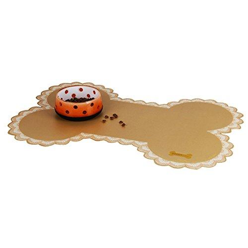 Artikelbild: atoys Pet Hund EVA Tisch-Sets Wasserdicht Schale Anti-Rutsch-Matten zufällige Farbe