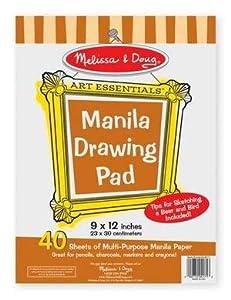 Melissa & Doug Manila Drawing Pad