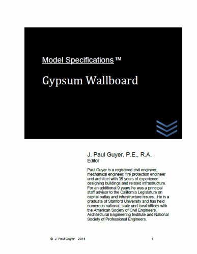 model-specifications-gypsum-wallboard-english-edition