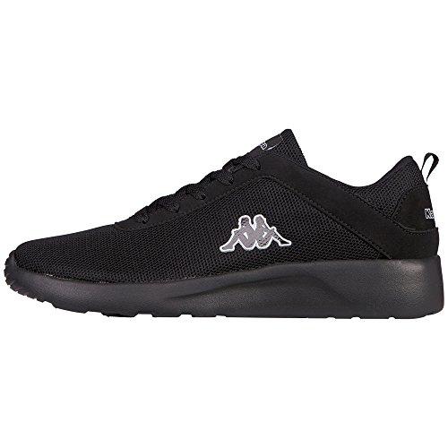 kappa-unisex-erwachsene-stone-sneakers-schwarz-1111-black-42-eu