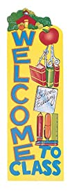 Eureka Vertical Classroom Banner, Wel…