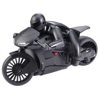 The Black Series Lean Machine Radio Controlled High Speed RC Motorcycle with Leaning Function (Radio Controlled Motorcycle compare prices)