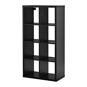 Amazon.com - Ikea Kallax Bookcase Shelving Unit Display Black Brown