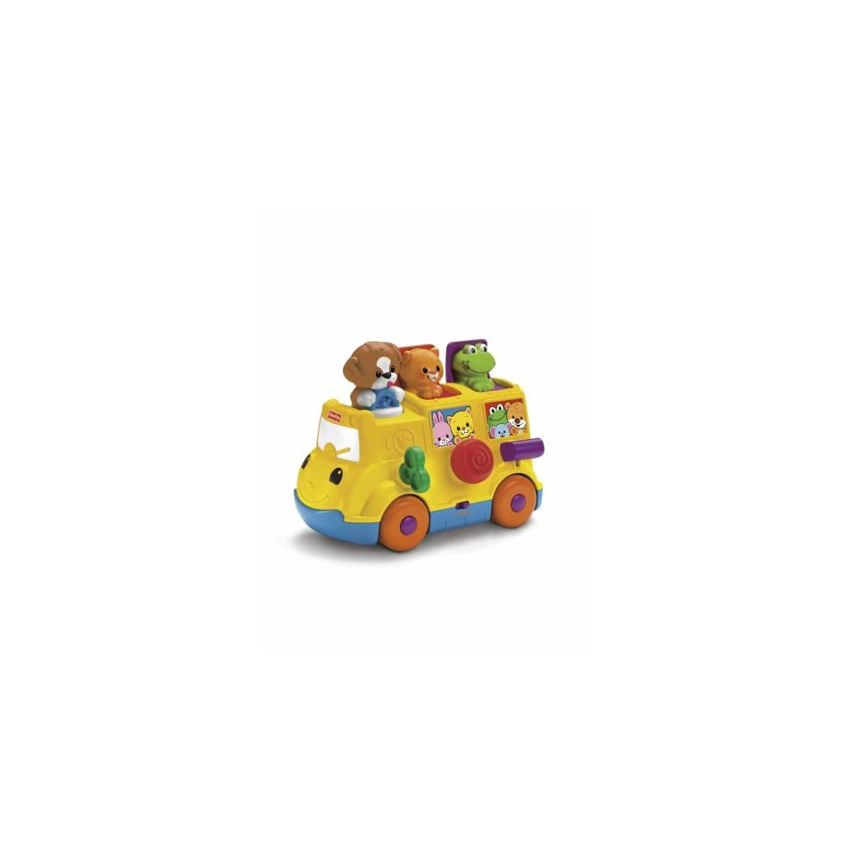 Fisher Price Talking Musical~abc/ 123 Learning Bus