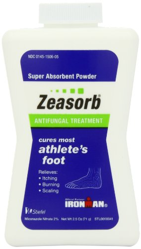 Zeasorb Af Antifungal Powder, Foot Care, 2.5 Oz, 2 Pk