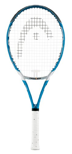 Head Crossbow 4 Tennis Racquet - Blue, 3 Grip