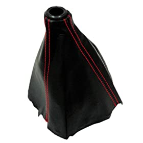 94-00 Honda Civic Type-r Red Stitch Jdm Shift Boot Ek