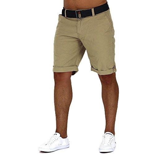 Uomini Shorts Cargo Bermuda BigBang Verde ID1004, Farben:Green;Größe-Shorts:W29