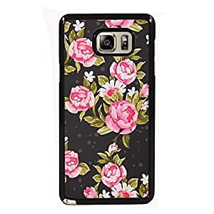 The Elegant Flower Design Slim Metal Back Case for Samsung Galaxy Note 3 #04201674