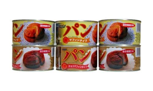 【Amazon.co.jp限定】トクスイ マフィン2種アソートセット (パン缶)2種6缶セット