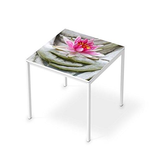 Mbel-Folie-Sticker-fr-IKEA-Melltorp-Tisch-75x75-cm-Dekosticker-Dekorfolien-Mbel-Tattoo-Zimmer-umgestalten-Einrichtungsideen-Erholung-Wellness-Flower-Buddha