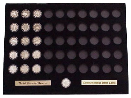 Black Display Insert for the 50 State Quarters (Not Included)