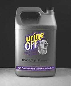 Urine off odor and stain remover dog formula for Fish odor urine