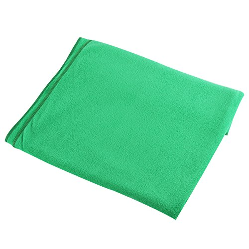 80X140Cm Microfibre Sports Travel Gym Fitness Beach Swim Camping Bath Towel (Green) front-743553