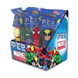 Pez Marvel Comics (12 Individually Wrapped Dispensers)