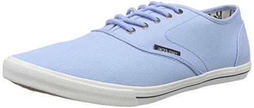 JACK & JONES JJSPIDER CANVAS SNEAKER, Sneakers Basses homme - Bleu (Blue Bell), 42 EU