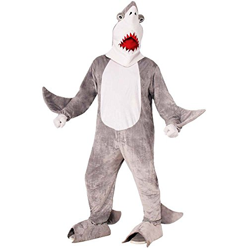 Chomper the Shark Mascot Adult Costume - Standard