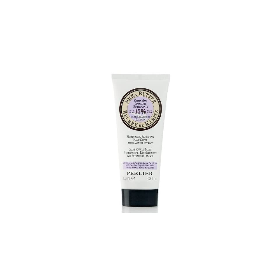 Perlier Shea Butter Hand Cream with Lavender Extract Beauty
