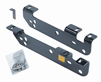 Draw-Tite 50073 5th Wheel Custom Quick Install Bracket Kit for Ford HD