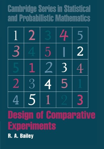 Design of Comparative Experiments (Cambridge Series in Statistical and Probabilistic Mathematics)