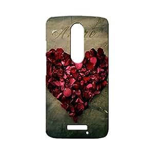 BLUEDIO Designer Printed Back case cover for Motorola Moto X3 (3rd Generation) - G5077