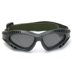 Gafas Tacticas Rejilla Protección Ojos Militar Seguridad Supervivencia Negro