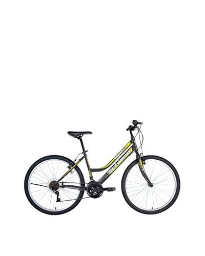 SCH Bicicleta Mtb Integral 24″ 18 V Shimano Antracita / Verde